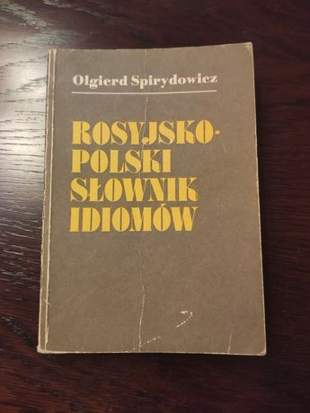 Rosyjsko-polski słownik idiomów