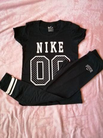 Nike leginsy, koszulka