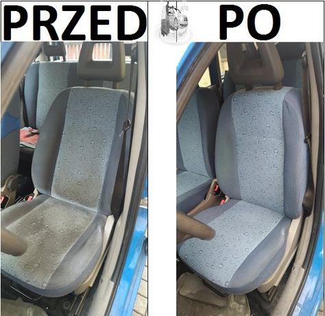 Pranie czyszczenie tapicerki samochodowej meblowej/polerowanie lakieru