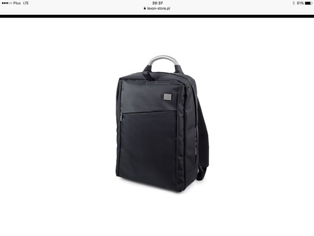 Plecak na laptopa - Lexon - granatowy
