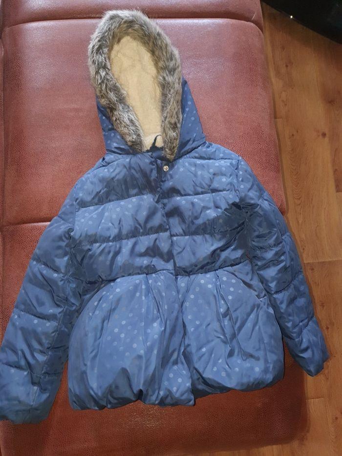 Зимняя куртка на девочку 7-8 лет Днепр - изображение 1