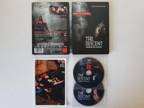 The Descent |A Descida |Steelbook | 2 DVDs + 4 Postais| Neil Marshall