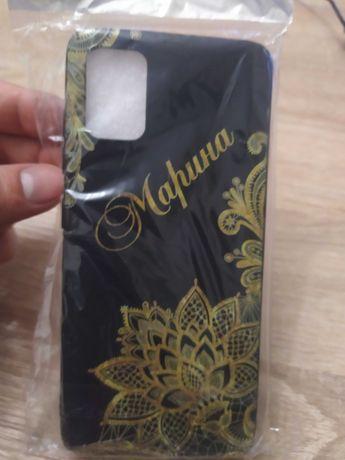 Силиконовый чехол для Samsung Galaxy A51 Марина