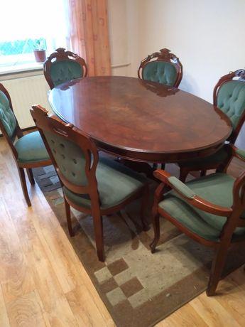 Sprzedam stół z krzesłami Art Deko