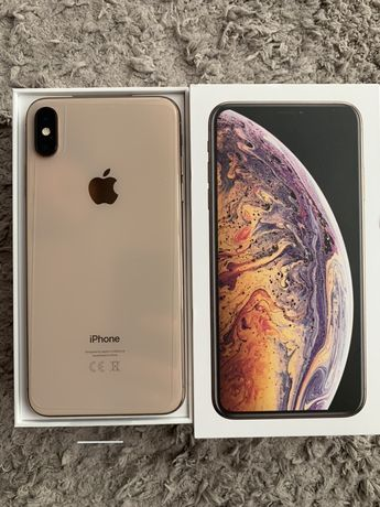 iPhone 10 x-max rose gold 64 gb