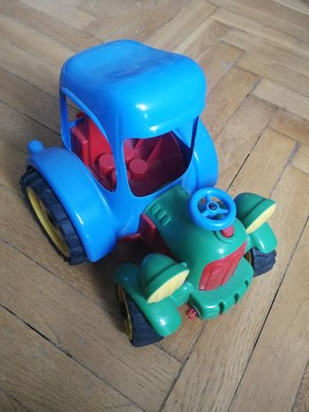 Traktor Wader skręcane koła
