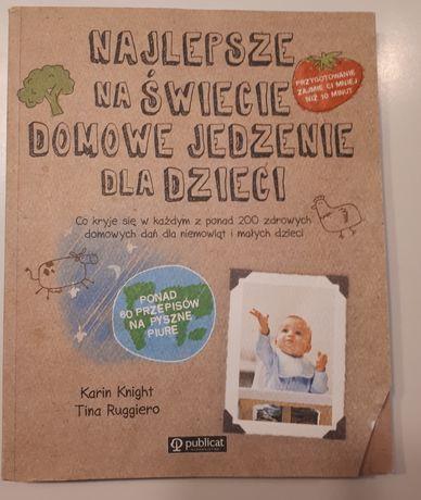 Książka z przepisami dla dzieci