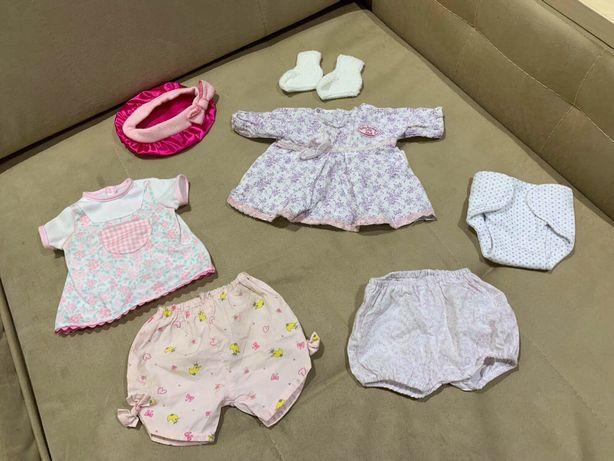 Одежда для Baby Born Zapf Creation одним лотом