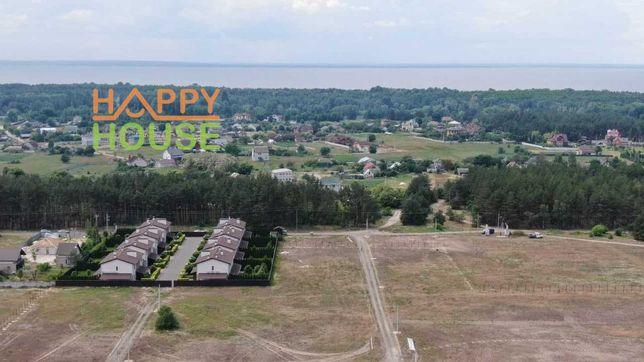 УЧАСТКИ  в коттеджном городке  закрытого типа в селе Лебедевка.