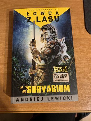 Książka Łowca z lasu Andriej Lewicki fabryczna zona survarium