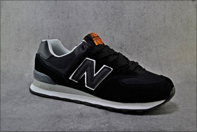 Мужские кроссовки New Balance 574 Black, Повседневная обувь