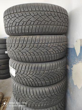 Koła opony zimowe Dunlop z felgami 5x112 Vw 205/55R16