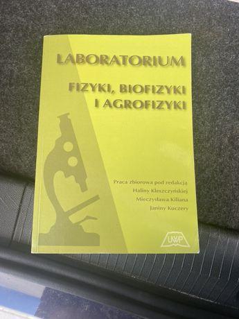 Ksiazka podręcznik laboratorium fizyki biofizyki i agrofiyki