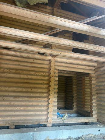 Продам дом из СРУБА СРУБ Сырьё материалы дерева, самовывоз Киев област