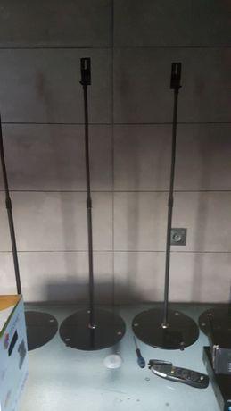 Stojaki na glosniki,szklana podstawa,regulowane