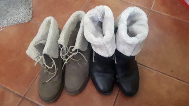 Buty ocieplane zimowe