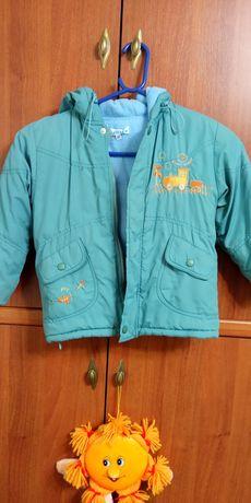Курточка для мальчика 3-4 года