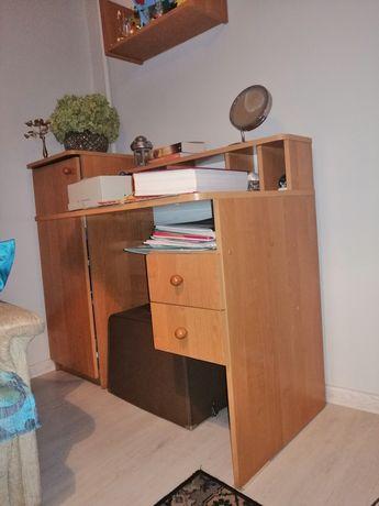 Biurko używane z dostawką