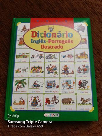Dicionário infantil ilustrado inglês-português  como novo