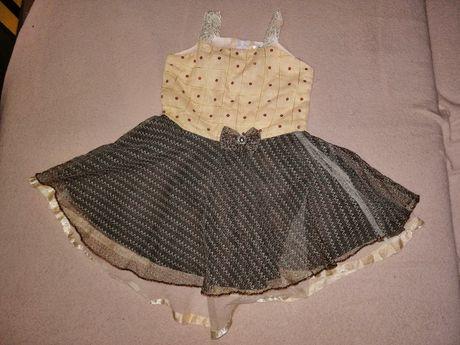 Sukienka r. 80..