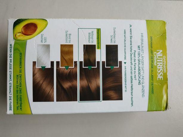 Krem do koloryzacji włosów Garnier Nutrisse średni brąz NIEMIECKA