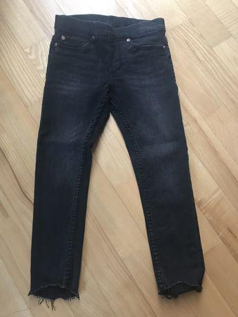 Spodnie jeansy z lycrą H&M r. 104