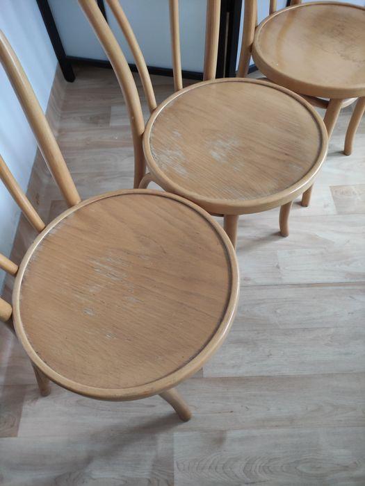 Krzesło drewniane gięte Fameg Warszawa - image 1