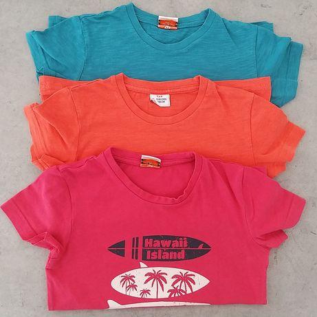TAO zestaw 3 bluzek (bluzka/koszulka/tshirt) dla chłopca 104