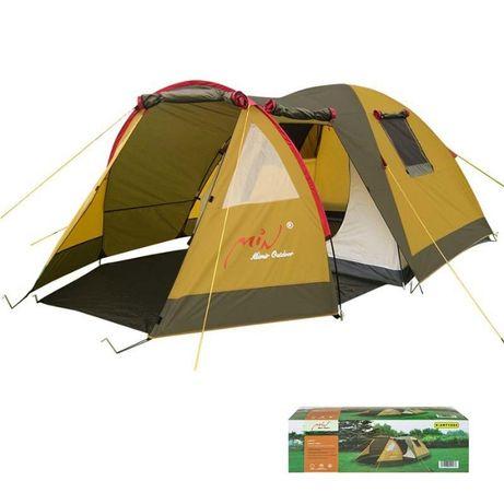 Палатка 3-х местная Mimir с просторным тамбуром