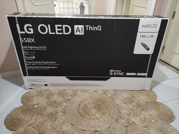TV OLED LG 55BX fatura e garantia