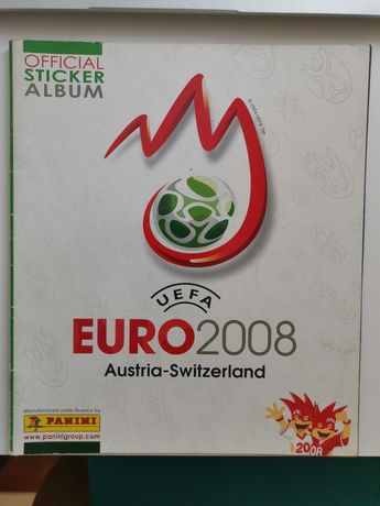 Album Panini Euro 2008 bardzo dobry stan