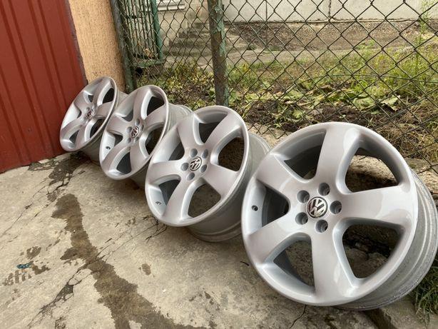 Продам комплект оригінальних легкосплавних дисків 5x100 R17 VW Skoda