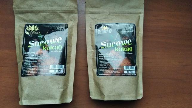 2x Surowe Kakao mielone 200g