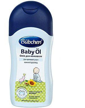 Олія для немовлят / масло для младенцев Bubchen 200 мл
