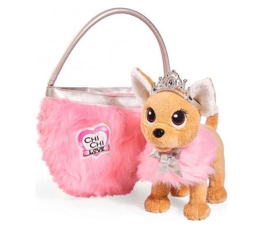 БЕСПЛ.ДОСТАВКА Собачка Chi Chi Love Принцесса с сумкой Simba 5893126