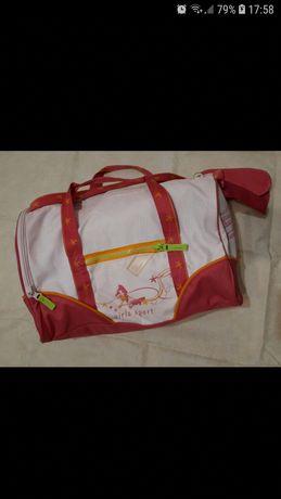 Decathlon torba podrozna, treningowa dziewczeca