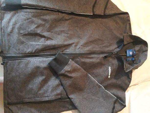Casaco desportivo Adidas cinzento escuro