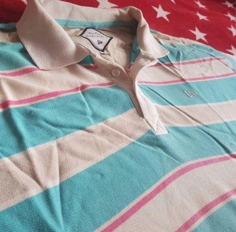 Świetna koszulka polo amerykańskiej marki New Era 3XL XXXL T-Shirt
