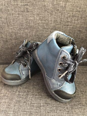 Осенние ботинки ботиночки хайтопы 12 см 20 размер