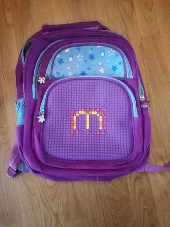 Рюкзак шкільний з кольоровим Lego.