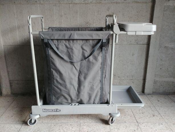Numatic profesjonalny wózek na brudną pościel