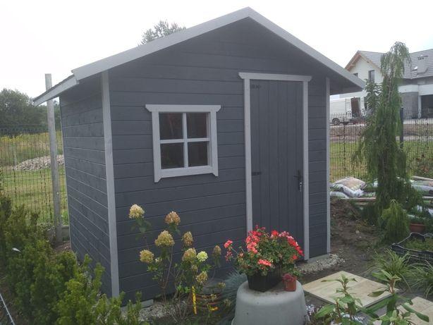 Domek drewniany narzędziowy/ogrodowy, domek na narzędzia