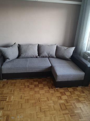 Rogówka narożnik kanapa łóżko duże