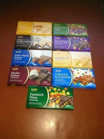 Шоколад, сладости из Германии