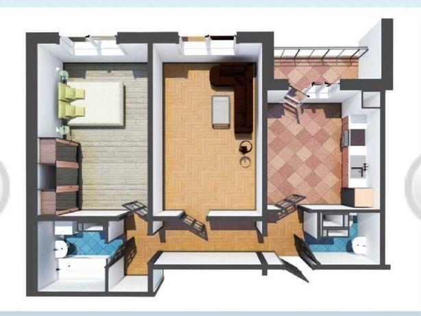 2х кімнатна квартира в новобудові на Половках.