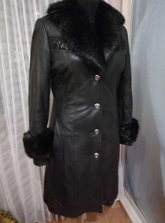 Дублeнка кожа пальто