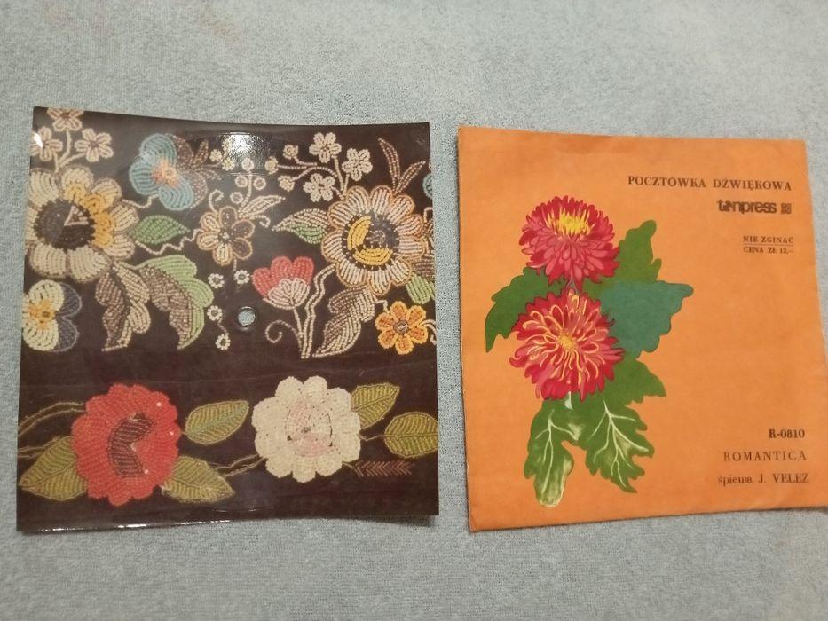 Płyta kartka grająca pocztówka dzwiękowa Romantica J Velez Gniezno - image 1