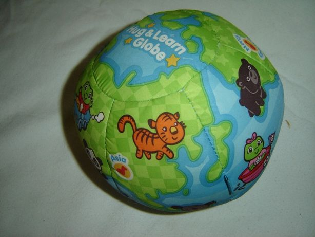 Leap Frog interaktywny mięciutki globus