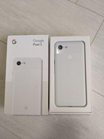 Google Pixel 3 64gb Clear White Как новый, полный комплект.