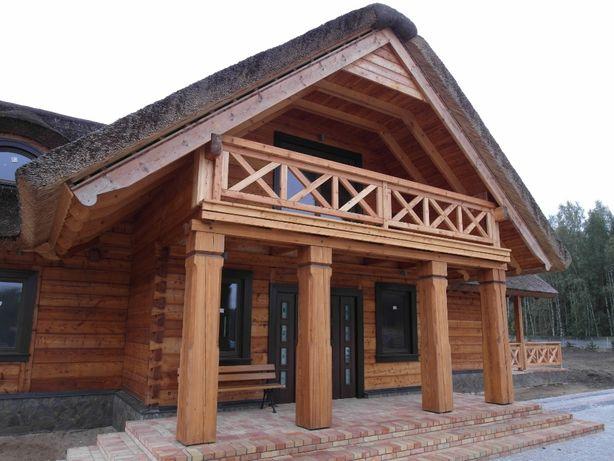 Dom z bali, budowa domów z bali, domy z bali